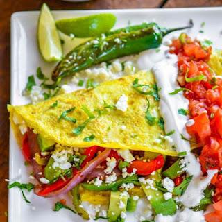 Chicken Stuffed Omelette (Indian Style Recipe)