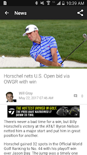 Golf Channel Mobile - náhled