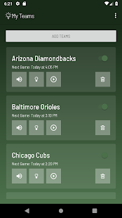 Baseball Lights for Philips Hue Screenshot