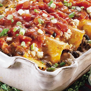 Black Bean Enchilada Casserole.