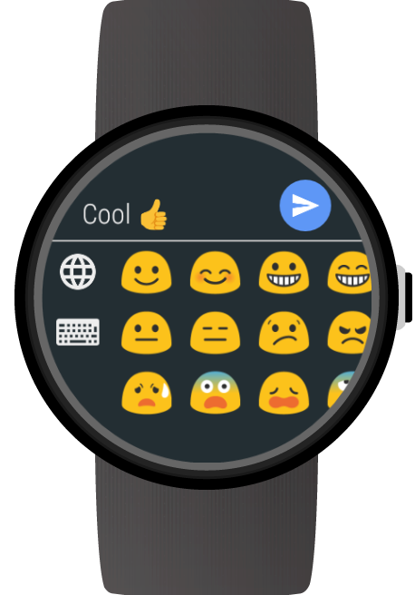 Keyboard for Wear OS (Android Wear) screenshots