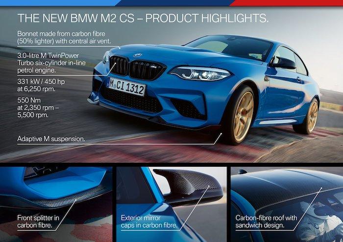 ภายนอก BMW M2 CS 2020