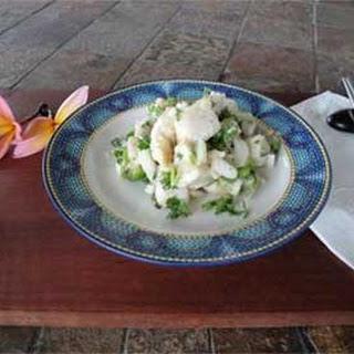 Hawaiian Wahoo Ceviche