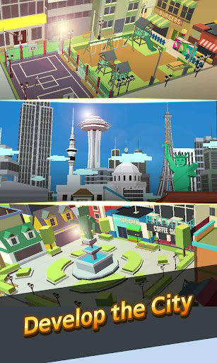 City Growing-Touch in the City( Clicker Games ) screenshot 3