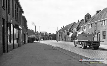 Photo: 1955 - Broekhovenseweg richting Piusstraat