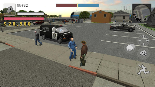 Police Cop Simulator. Gang War apkmr screenshots 5
