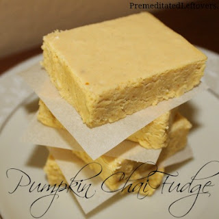 Pumpkin Chai Fudge