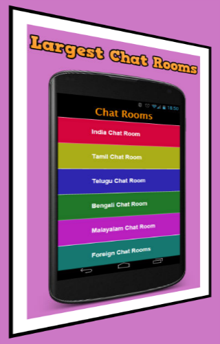 Indian mobile chat room