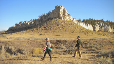 Photo: Heading back to campground from Neat Coulee