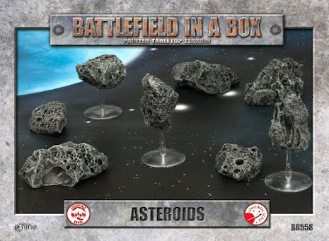 Galactic Warzones - Asteroids