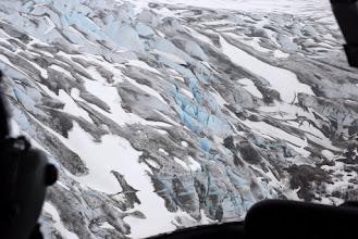 Photo: Blue ice!