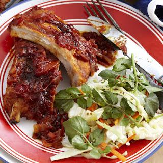 Tangy Tomato Pork Ribs.