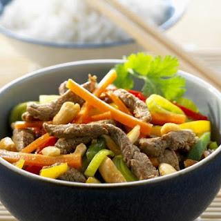 Chinese-style Pork Stir-fry.