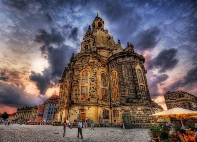 Dresden - Thành phố có kiến trúc Baroque đẹp nhất.