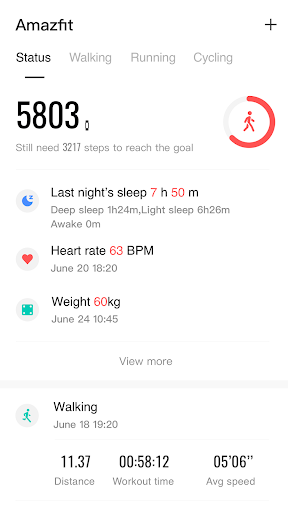 Amazfit Watch screenshot 1