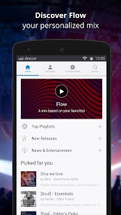 Deezer Music Player v6 1 6 62 Mod APK | iHackedit