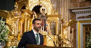 Ramón Fernández-Pacheco, alcalde de Almería, durante el pregón.