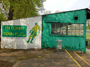 Photo: 21/04/14 v Buckingham Athletic (Spartan South Midlands League Division One played at Hitchin Town FC) 7-0 - contributed by Rob Campion