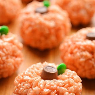 Rice Krispie Treat Pumpkins Recipe