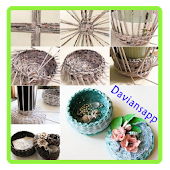 Jornais Reciclar DIY Ideas