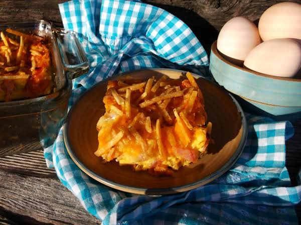 Redneck Breakfast Casserole Recipe
