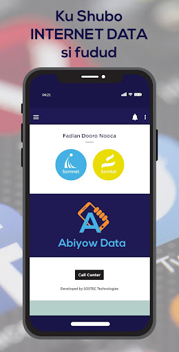 Abiyow Data screenshot 1