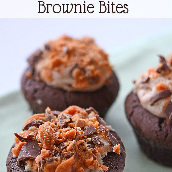 Candy Stuffed Brownie Bites Recipe — Dishmaps