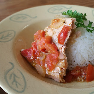Cook Salmon Fillets Caribbean Style