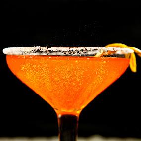 Orangen..with Fizzz by Raghu Lakshminaarayanan - Food & Drink Ingredients ( photosundari, orange, raghu, liquid, color, juice, vibrance, photostrophe, fizz, orangen )