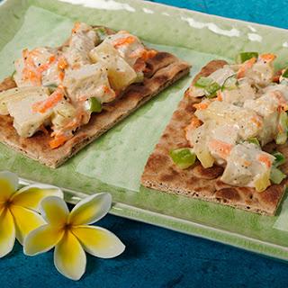 Hawaiian Chicken Salad Sandwich