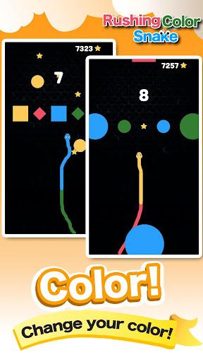 Rushing Color Snake-Super Fun Speed Leisure Games screenshot 2