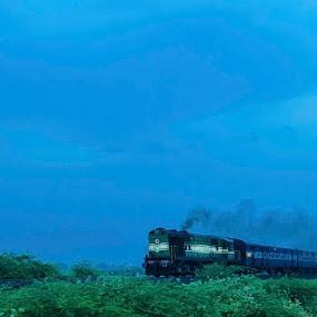by Babu Raj - Transportation Trains