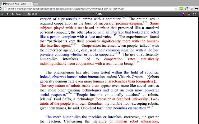 BeeLine Reader PDF Viewer