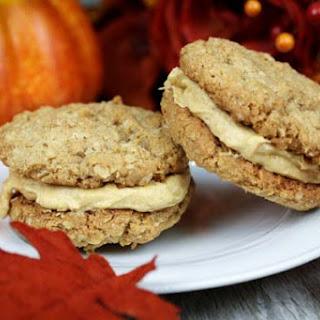 Oatmeal Pumpkin Cookie Sandwiches