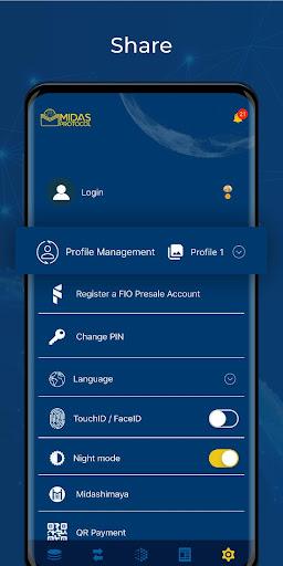 Midas Protocol - Crypto Wallet: Bitcoin, Ethereum 1.6.10 screenshots 8