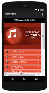 Katy Perry Top Songs & Hits Lyrics. - náhled