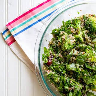 How to Make a Grain Salad | Broccoli Quinoa Salad.