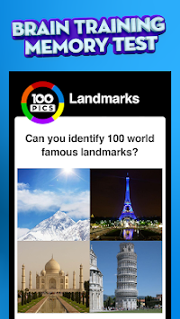 100 PICS Quiz apk screenshot