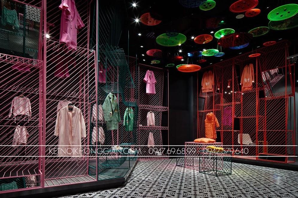 thiết kế shop thời trang JOOOS 3