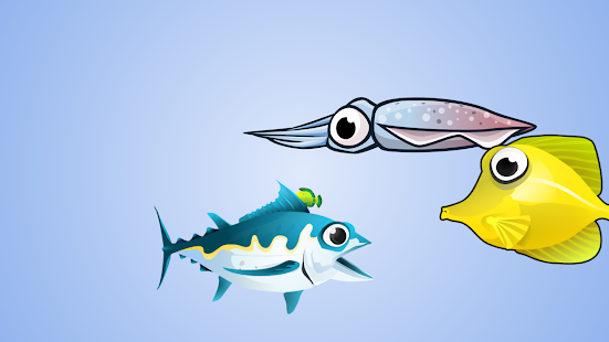 FishingA, free Android fishing game. - náhled