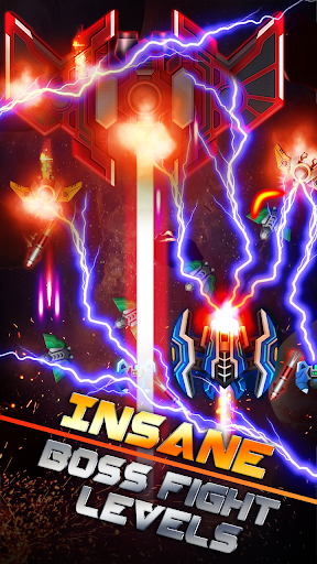 Galaxy War - Space Shooter, Phoenix Alien Shoot 1.6 screenshots 2