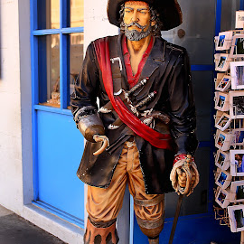 Captain Hook by Gérard CHATENET - City,  Street & Park  Street Scenes