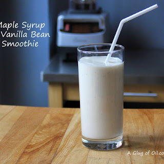 Maple Syrup and Vanilla Bean Smoothie.