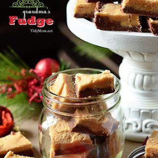 Peanut Butter & Chocolate Fudge