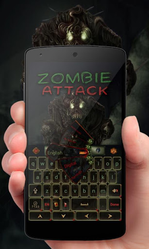 Zombie Attack Keyboard Theme