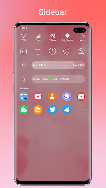 Super S10 Launcher Screenshot Image