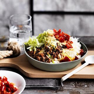 Beef Taco Rice.
