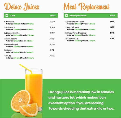 Healthy House menu 4