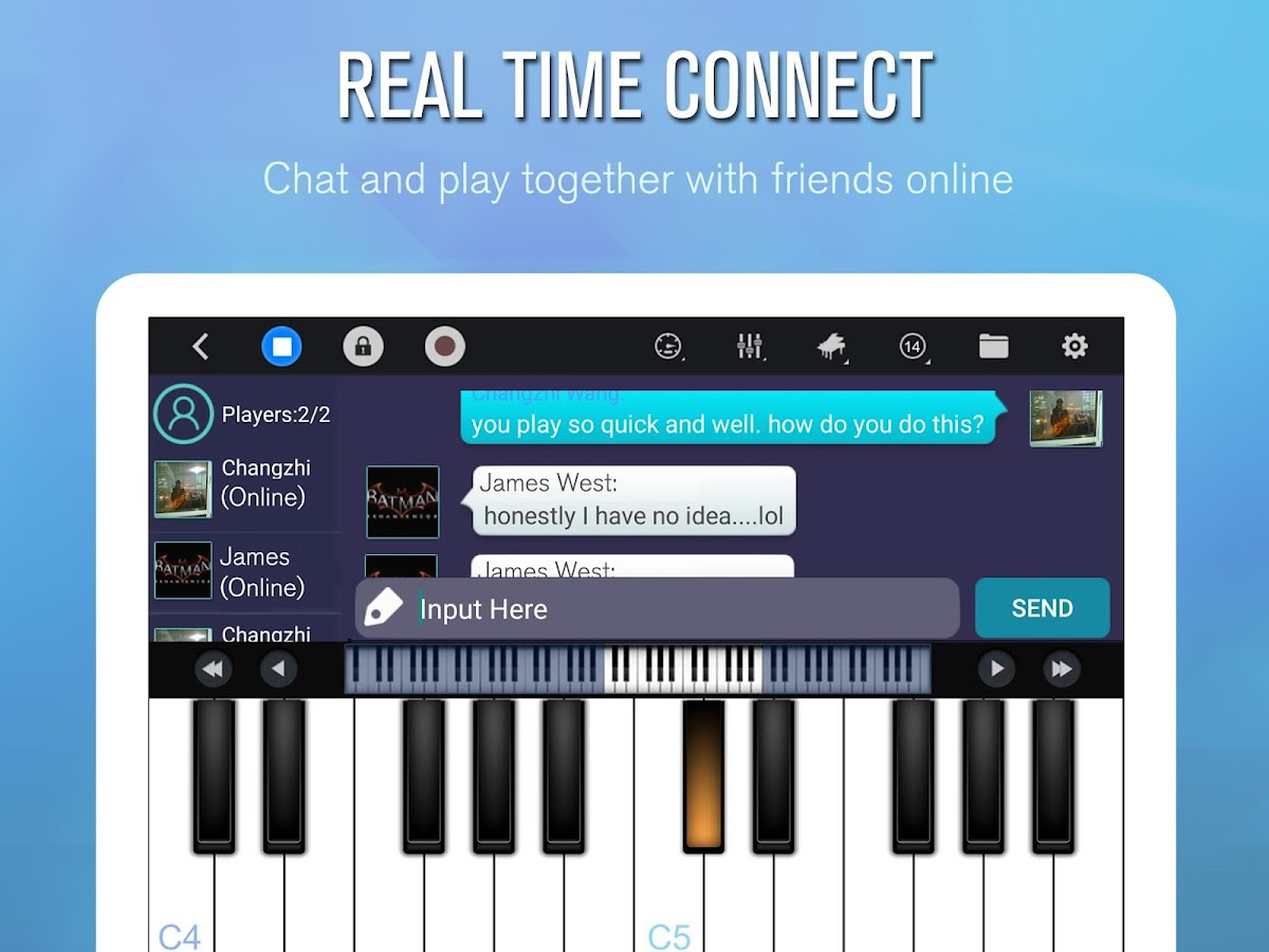 Perfect piano android apps on google play perfect piano screenshot hexwebz Gallery