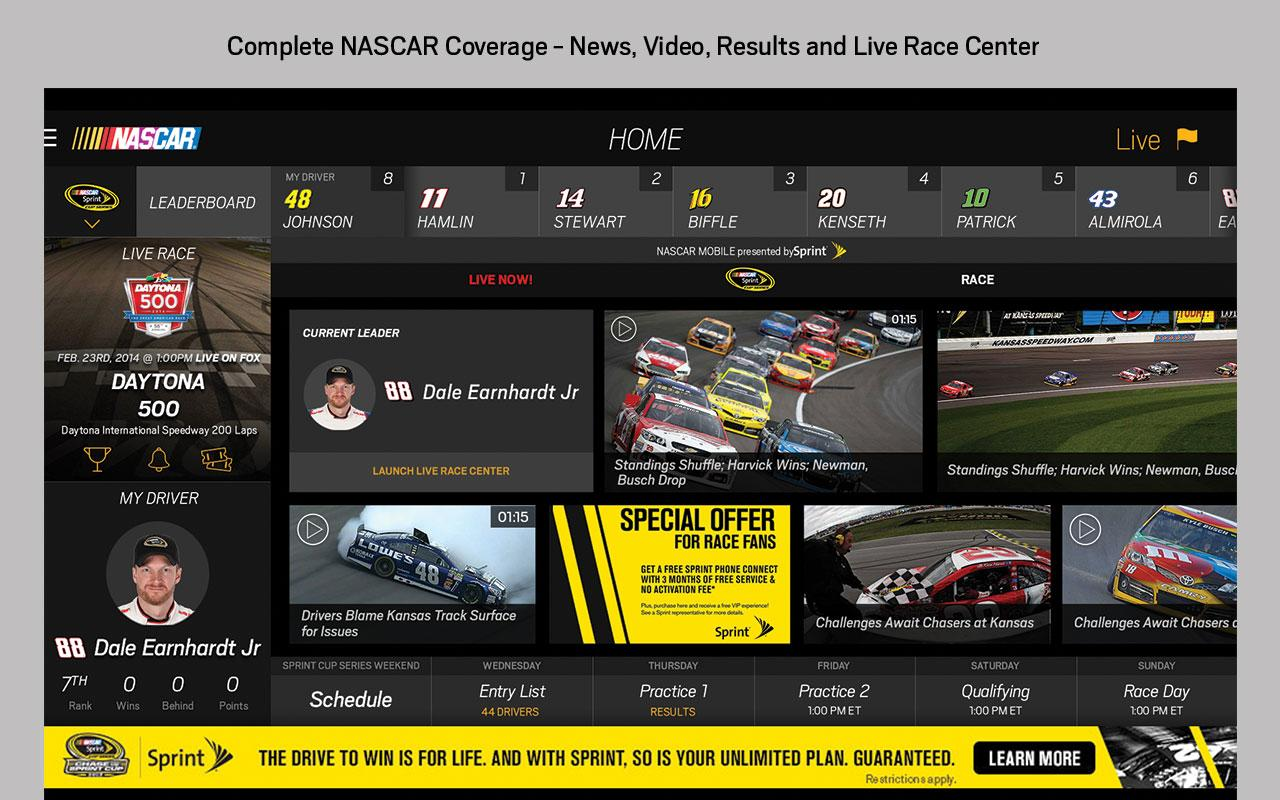 NASCAR MOBILE - screenshot